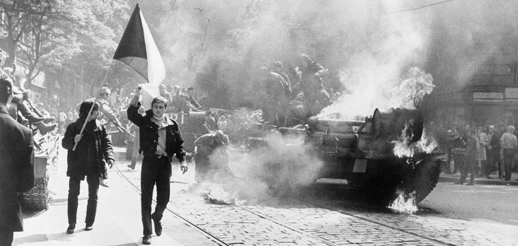 Prague Spring Protest, 1968