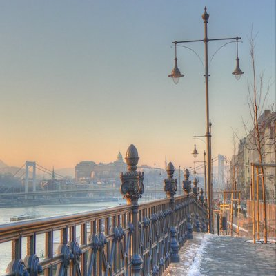 The Danube in Winter