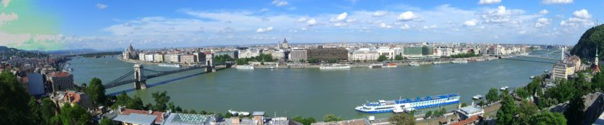 Budapest Panorama from the Castle
