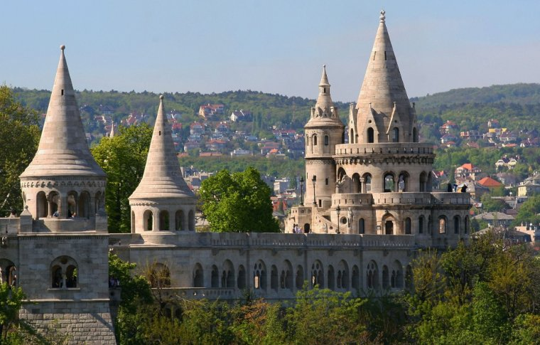large white place with spires