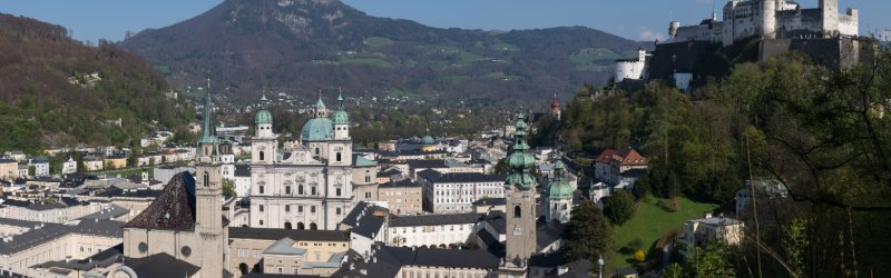 View of Salzburg's Old Town