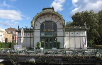 Karlsplatz Pavilion, an old railway station.