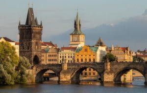 Charles Bridge over Vltava, Prague