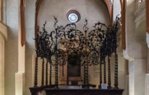interior of a synagogue